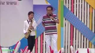 """함양축제 KBS전국노래자랑""""신동정동원 """"앵콜곡 멋진색스폰연주~~"""