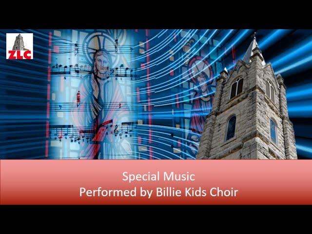 Worship Music - Billie Kids Choir - The Butterfly Song