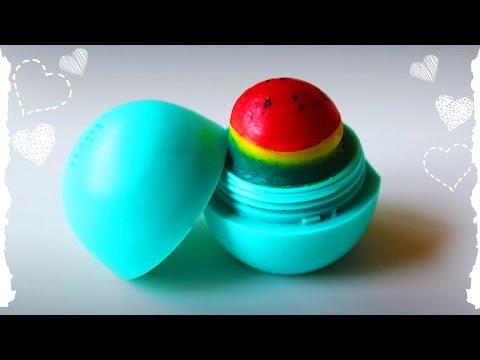 💜Мои Бальзамы Для Губ/My lip balms /EOS/Baby lips/DanaSYC - YouTube