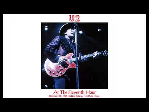 U2  19891230 Dublin  With Or Without You  Shine Like Stars  Love Will Tear Us Apart