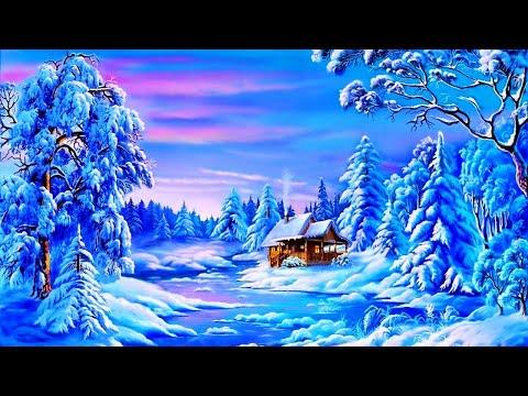 Зимняя сказка от художника Виктора Цыганова