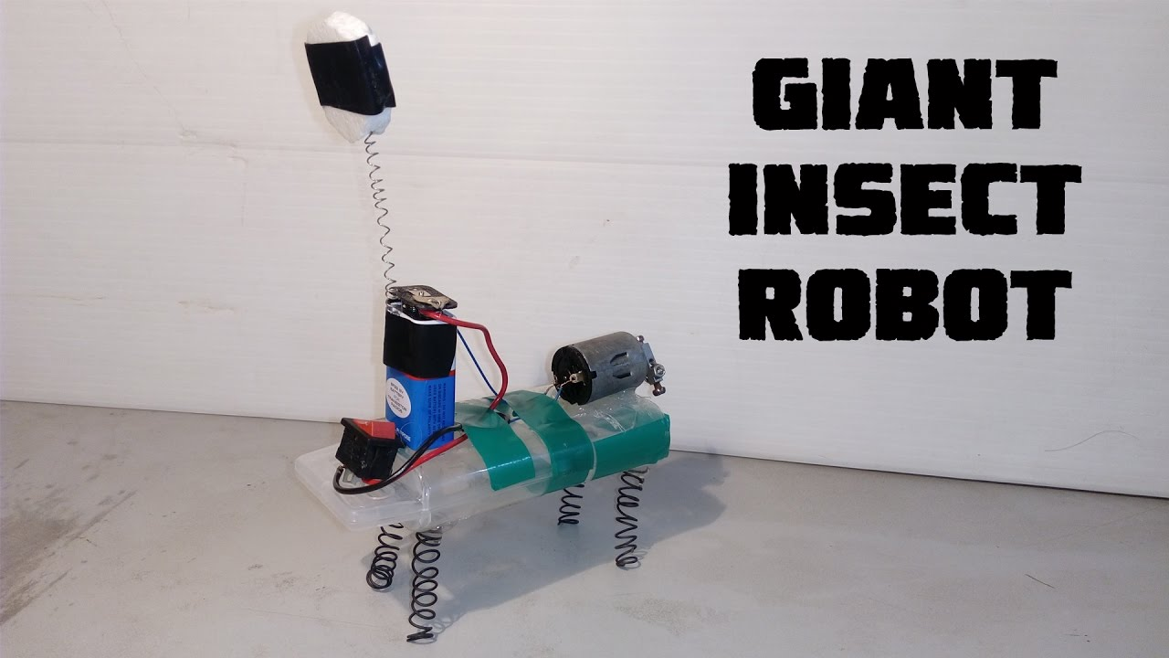 Download How To Make A Insect Robot | Funny Robot | Diy Robot Easy Way