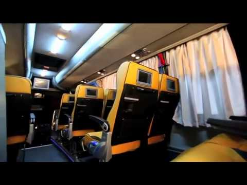 India S Longest Intercity Volvo Bus 2012 Youtube