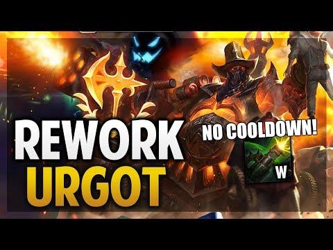 ¡REWORK DE URGOT! | LA W PERMANENTE! | League of Legends thumbnail
