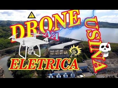 DRONE entra na USINA de ENERGIA ELETRICA wanzam fpv