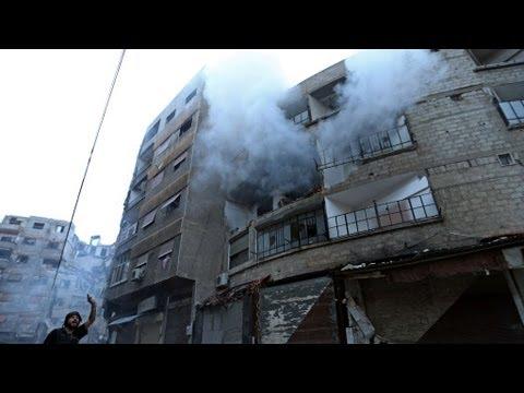 Syria's descent: death in Damascus