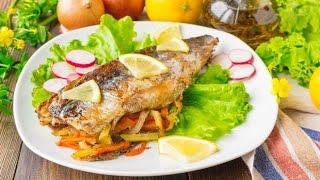 Рыба в фольге в духовке с лимоном и овощами 🐟 (ОЧЕНЬ ВКУСНАЯ!!!) ⭐Просто, Недорого и Полезно!