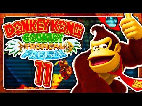 OH GOTT. OKAY! ⛄ #11 • Donkey Kong Country Tropical Freeze (Switch)
