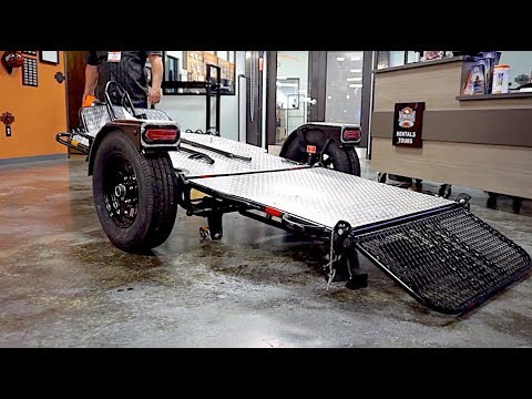 Harley-Davidson PCB | Drop-Tail Motorcycle Trailer Overview
