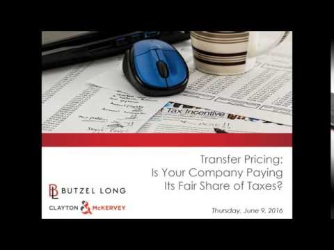 Transfer Pricing - Is Your Company Paying Its Fair Share of Taxes? Jun