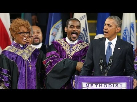 Defining racial moments in Obama's presidency
