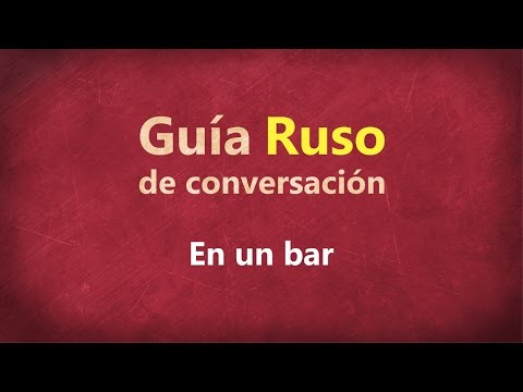 en-un-bar---guía-de-conversación-ruso
