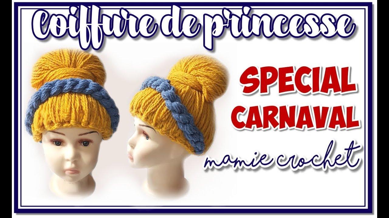 comment faire une perruque en laine pour d guisement de princesse carnaval tuto pas pas diy. Black Bedroom Furniture Sets. Home Design Ideas