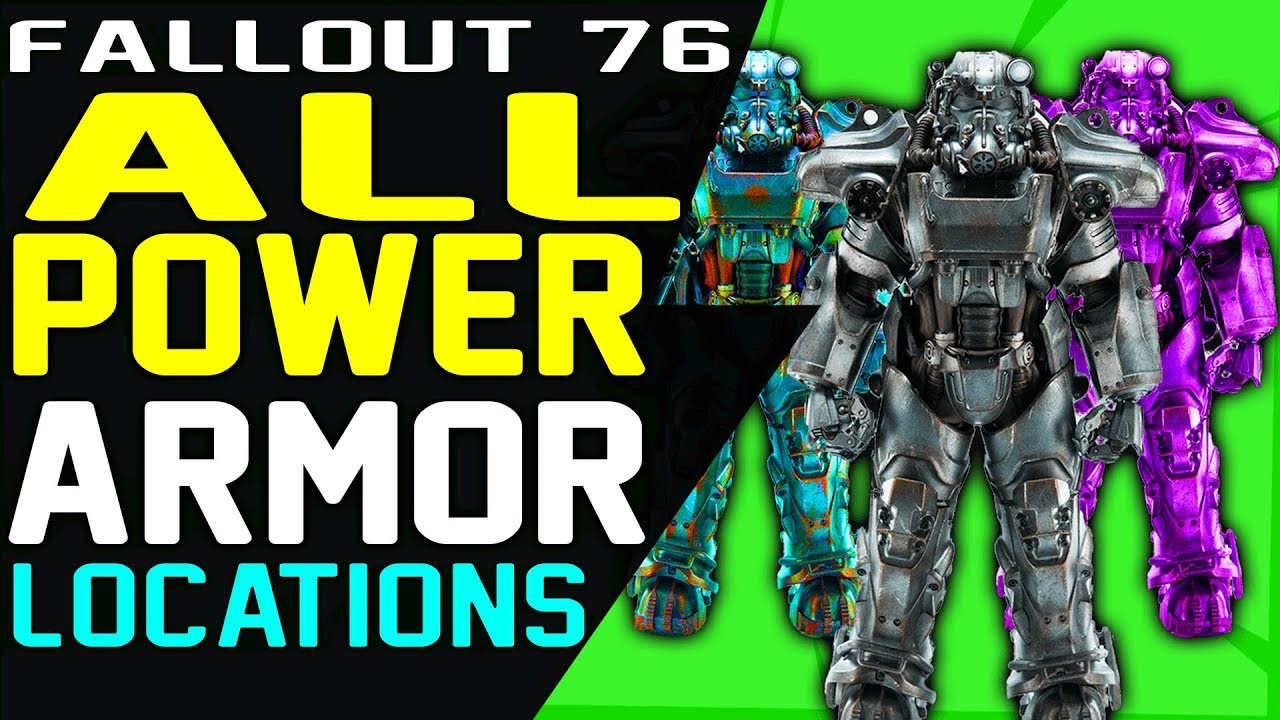 Fallout 76 Sentinel Armor Reddit