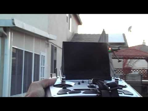 Walkera Scout x4 Hover and stability test