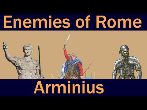 ENEMIES OF ROME: Arminius of Germania