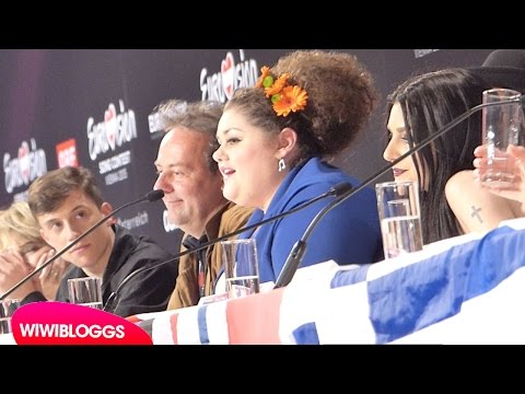 Eurovision 2015: Semi final 1 press conference (qualifiers)| wiwibloggs