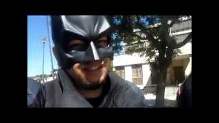 batman at Loma Linda children cancer walk 2015  (never a broken dream)2
