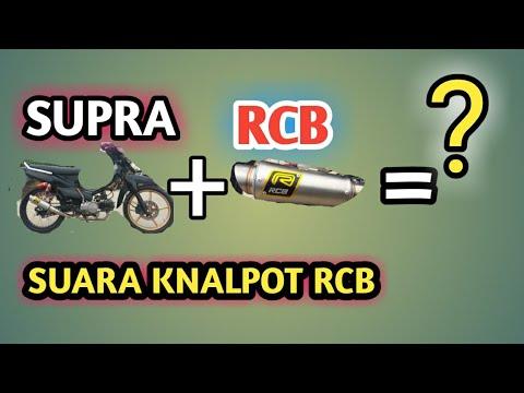 Review KNALPOT RCB SUPRA X 125 SUARANYA GANAS BRO....!!!!