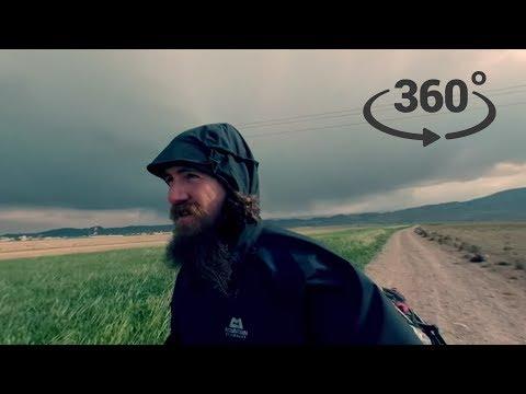 360° Walk - Iran, April 18th 2018: Those Clouds