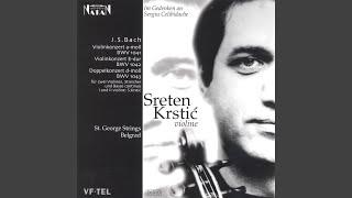 Violinkonzert e-dur BWV 1042 - Allegro