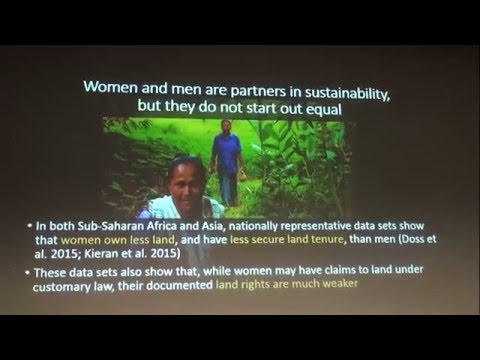 This Land is Our Land: gender perspectives on tenure and rights