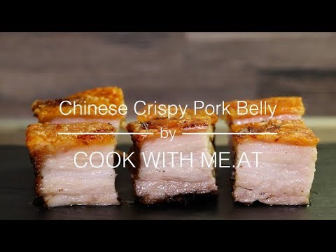 Chinese Crispy Pork Belly  Grilled Hong Kong Pork Belly Siu Yuk 脆皮燒肉
