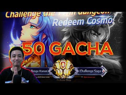 BEDEBEST 50 Gacha Untuk Kanon Dan Saga   Saint Seiya Awakening Indonesia