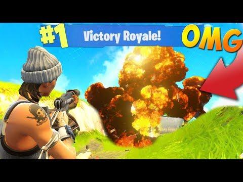 EXPLODING BASES FOR THE WIN! (Fortnite Battle Royale)