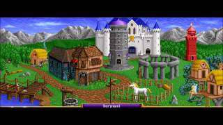 Heroes of Might & Magic 1 Sorceress Town Theme Animatic (1995, NWC) 720p Animated