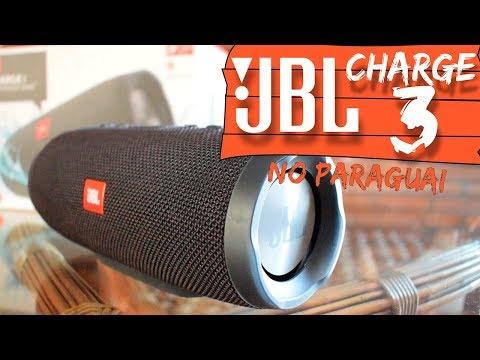 JBL Charge 3: Comparativo de preço Brasil X Paraguai