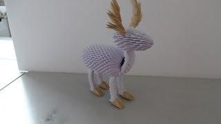3d Origami Reindeer Tutorial