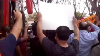 Zafarrancho en Ayuntamiento de Tijuana