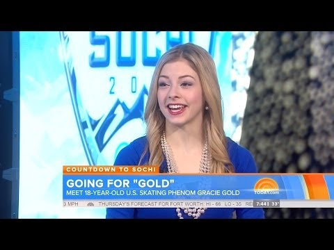 Gracie Gold - Today Show - January 14 2014