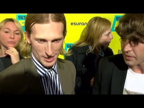 """SXSW 2016: Austin Amelio & Temple Baker at """"Everybody Wants Some!!"""" premiere"""