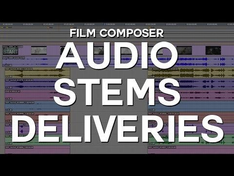 Audio Stems Deliveries for Film Composers
