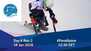 2018 World Para Alpine Skiing World Cup | Veysonnaz | Day 4 Run 2