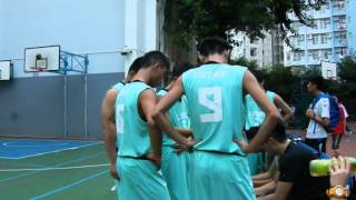 九龍體育會中學籃球聯賽 K-LEAGUE SENIOR 2015 李求恩VS莫慶堯 PT-1