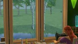 Sims 2 Freetime Object: Sewing Machine