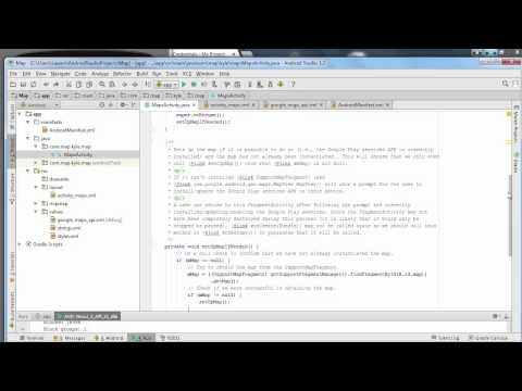 How To Create a Map App (JAVA) - Android Studio