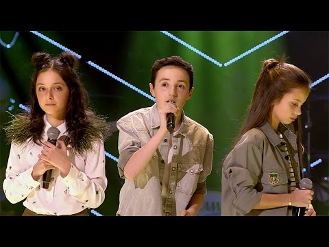 Raphaelle, Romy & Stijn - 'Never Be Like You' | Battles | The Voice Kids | VTM