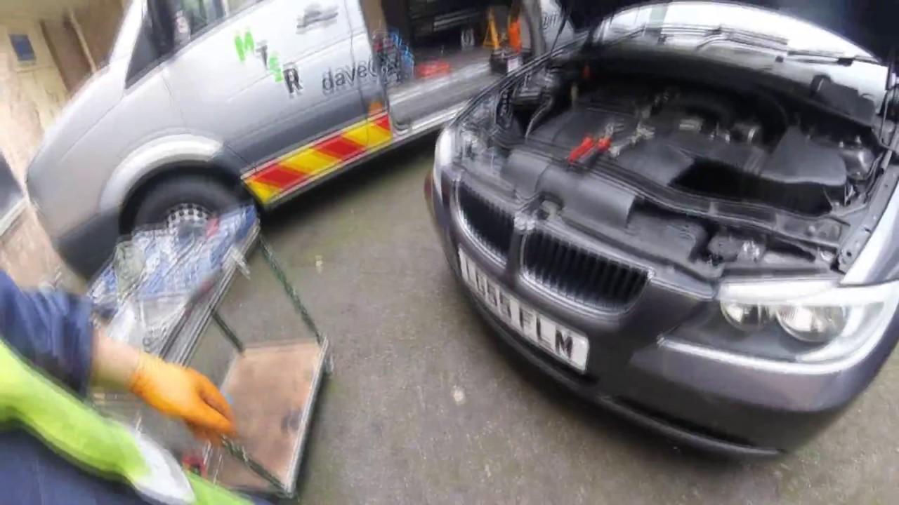 BMW 318i e90  How to change engine