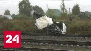 Три поезда дальнего следования задержаны из-за столкновения под Владимиром - Россия 24