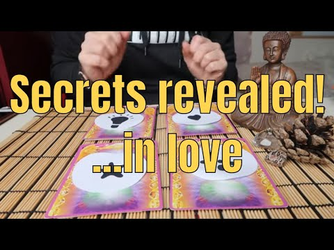 Free online tarot - PICK A CARD ** Secrets revealed in love ** (Timeless)