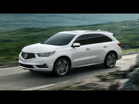 2017 Acura Mdx Review Third Row Luxury Suv You