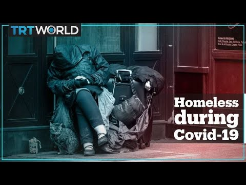 Homeless people most vulnerable during coronavirus pandemic