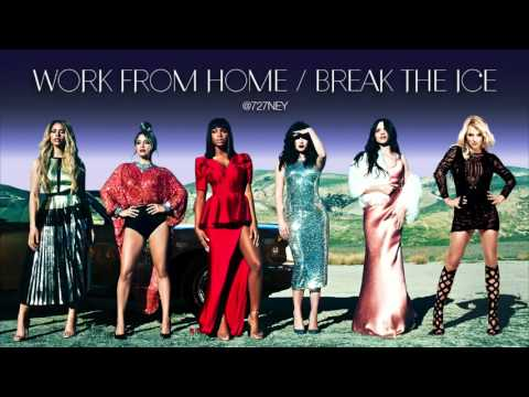Fifth Harmony / Britney Spears - Work from Home / Break the Ice MASH UP