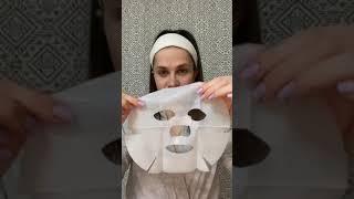 Обновляющая маска для лица из биоцеллюлозы с ниацинамидом и экстрактом центеллы NovAge 41563