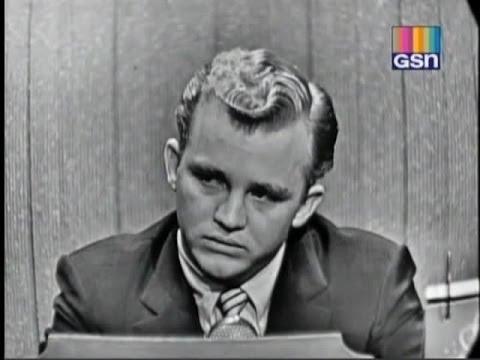 What's My Line?  Gary Crosby Jan 8, 1956