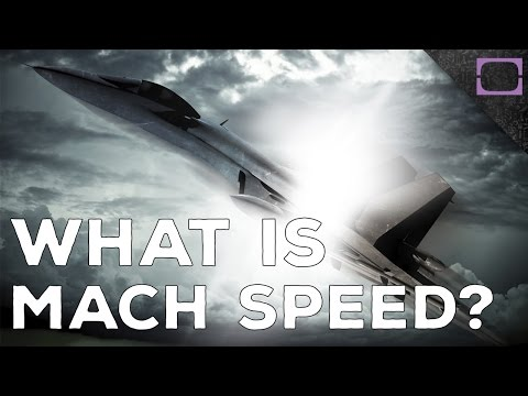 What Is Mach Speed?